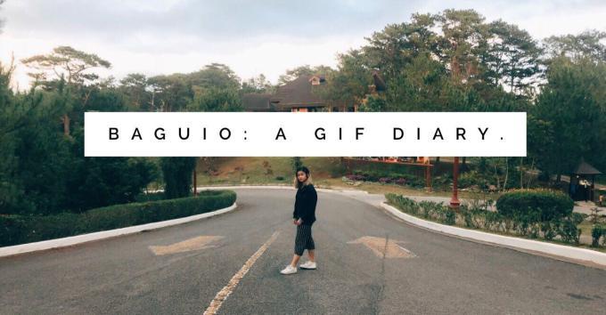 baguio: a GIFdiary.