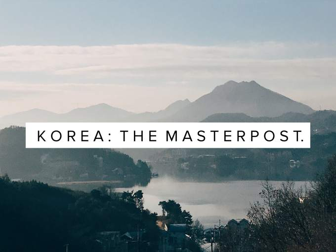 korea: the masterpost.
